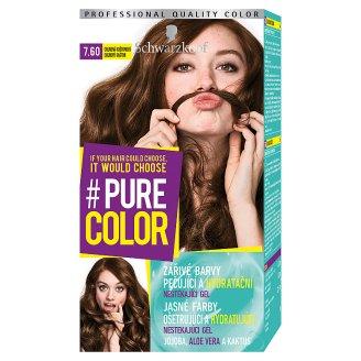 Schwarzkopf Pure Color barva na vlasy Chladná Kaštanová 7.60