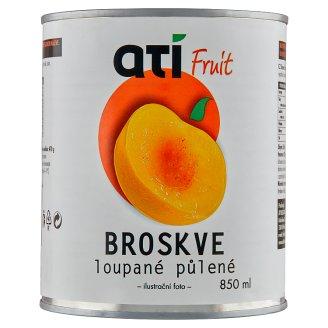 Ati Fruit broskve loupané půlené 850ml