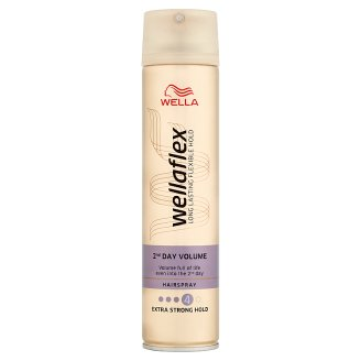 Wella Wellaflex 2nd Day Volume Extra Strong Hold lak na vlasy 250ml