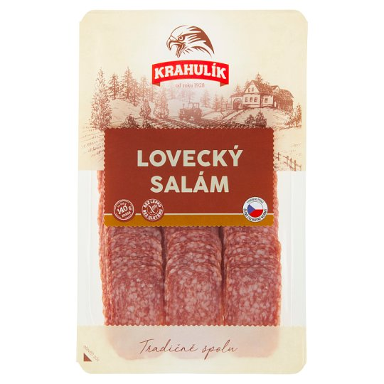 Krahulík Lovecky Salami Sliced 0.075kg