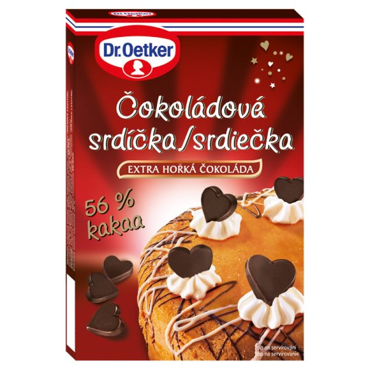 Dr. Oetker Chocolate Hearts 45g