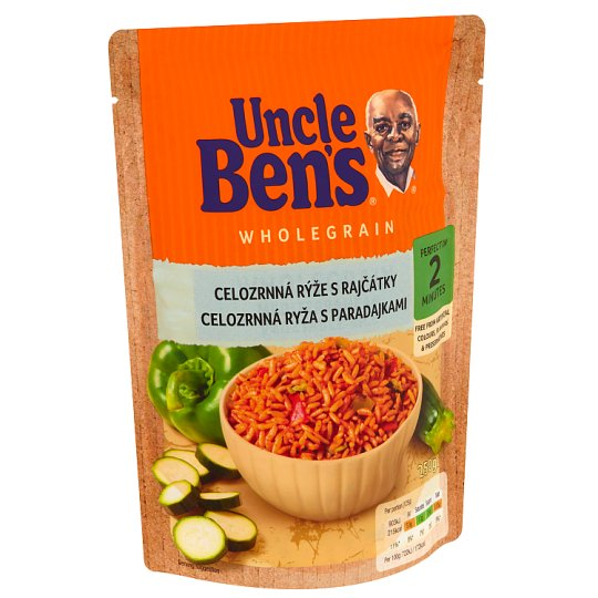 Uncle Ben's Wholegrain Rice with Tomatoes 250g