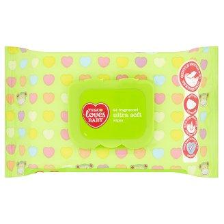 Tesco Loves Baby Ultra soft vlhčené ubrousky parfémované 64 ks