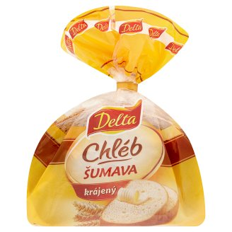 Delta Šumava Wheat Rye Sliced Bread ​​250g