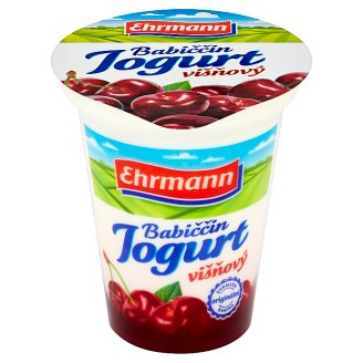 Ehrmann Babiččin Jogurt Cherry 150g