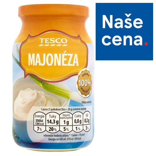 Tesco Majonéza 380g