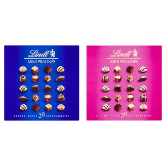 Lindt Mini Pralines Mixture of Chocolates 100g