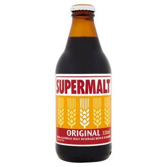 Supermalt Originální nealkoholický sladový nápoj s vitamíny B 330ml