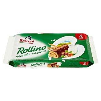 Balconi Rollino s lískooříškovou náplní a kakaovou polevou 6 x 37g
