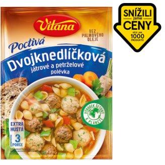 Vitana Poctivá dvojknedlíčková polévka - játrové a petrželové 85g