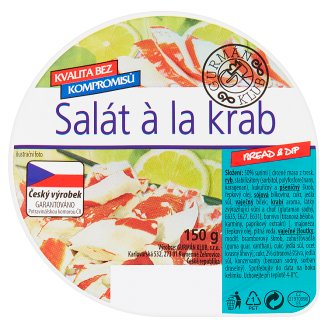 Gurmán Klub Bread & Dip Salad à la Crab 150g