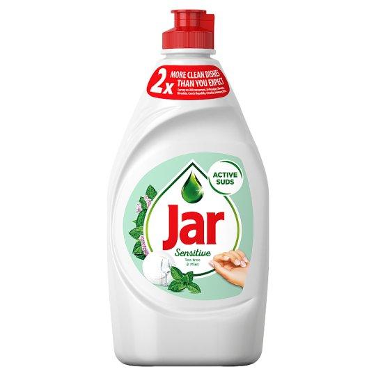 Jar Sensitive Washing Up Liquid Teatree & Mint 450 ml