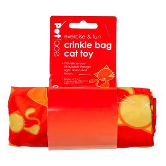 Petface Catkins Crinkle Bag Cat Toy