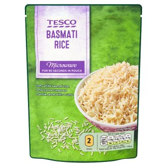 Tesco Basmati Rice 250g