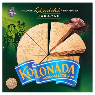 Opavia Kolonáda Original Czech Spa Wafers with Cocoa Filling 260g
