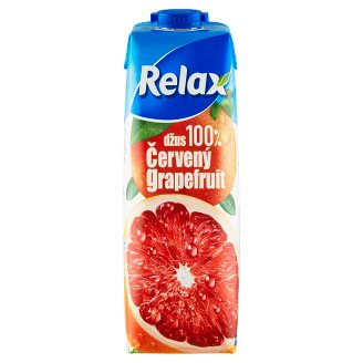 Relax Juice 100% Red Grapefruit 1L