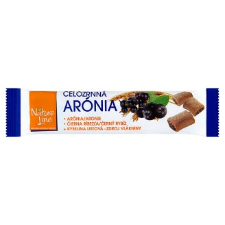Nature Line Wholegrain Biscuits Filled with Filling of Aronia and Black Currant 65g