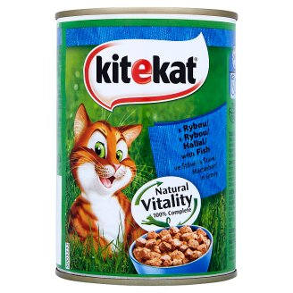 Kitekat with Fish in Gravy 400g