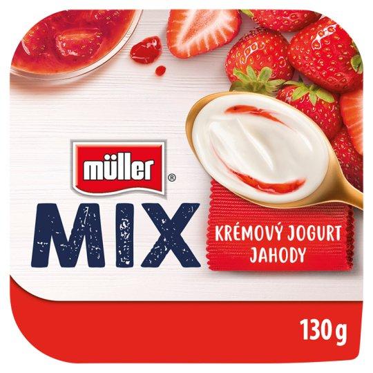 Müller Mix Creamy Yoghurt Strawberry 130g