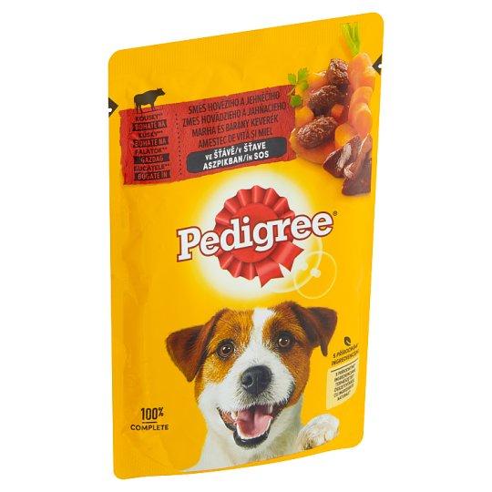 Pedigree Vital Protection Kompletní krmivo pro dospělé psy s hovězím a jehněčím ve šťávě 100g