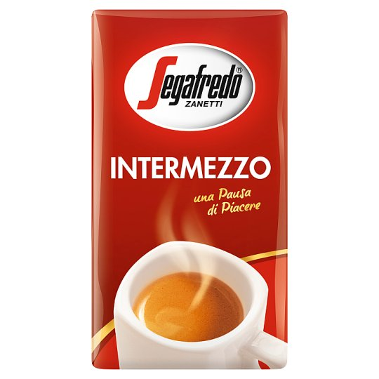 Segafredo Zanetti Intermezzo Coffee Roasted Ground 250g