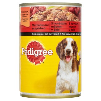 Pedigree Beef in Jelly Complete Food for Adult Dogs 400g