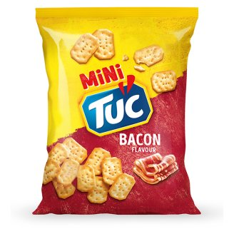 Tuc Mini Bacon Flavoured Crackers 100g
