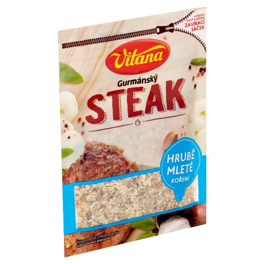 Vitana Gourmet Steak Roughly Ground Spices 25g