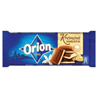 ORION Creamy Vanilla Chocolate 100g