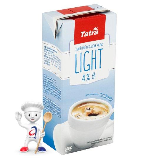 Tatra Zahuštěné neslazené mléko Light 340g
