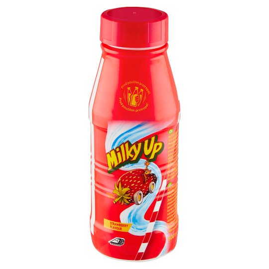 Milky Up Milk Drink with Strawberry Flavor 500ml