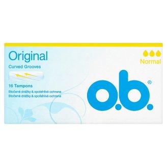 O.B. Original Normal tampony 16 ks