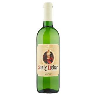 Víno Mikulov Svatý Urban bílé víno polosladké 0,75l