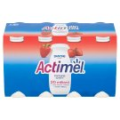 Danone Actimel Strawberry Yogurt Milk 8 x 100g