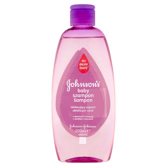 Johnson's Baby Soothing Shampoo with Lavender Extract 200ml