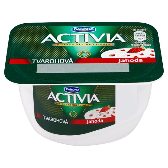 Danone Activia Curd Strawberry 135g