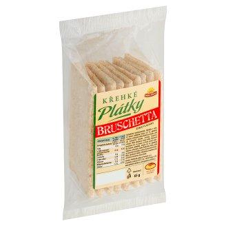 Michelské Pekárny Crispy Bruschetta Slices 65g
