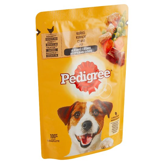 Pedigree Vital Protection Complete Feed for Adult Dogs with Chicken and Vegetables 100g