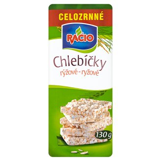 Racio Rice Cakes Wholegrain 130g