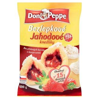 Don Peppe Bezlepkové jahodové knedlíky 600g