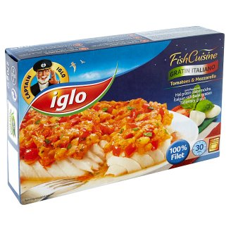 Iglo Gratin na italský způsob hluboce zmrazené 270g