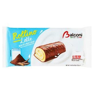 Balconi Rollino s krémovou náplní a kakaovou polevou 6 x 37g
