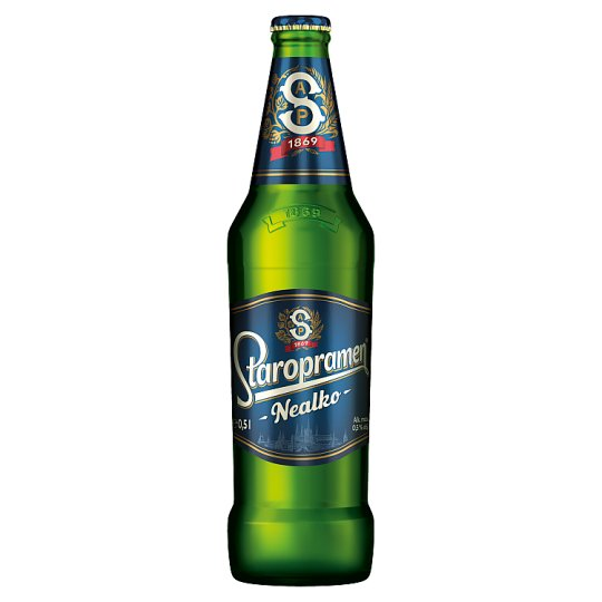 Staropramen Nealko pivo světlé 0,5l