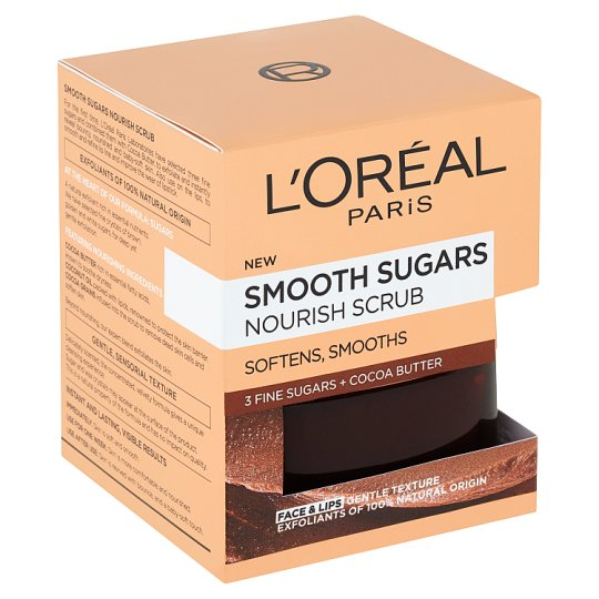 L'Oréal Paris Jemný vyživující cukrový scrub 50ml