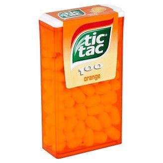 Tic Tac Dražé s pomerančovou příchutí 49g