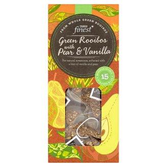 Tesco Finest Zelený čaj rooibos s vanilkovou příchutí 15 x 2g
