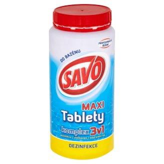 Savo do bazénu Chlorové tablety MAXI komplex 3v1 1,4kg
