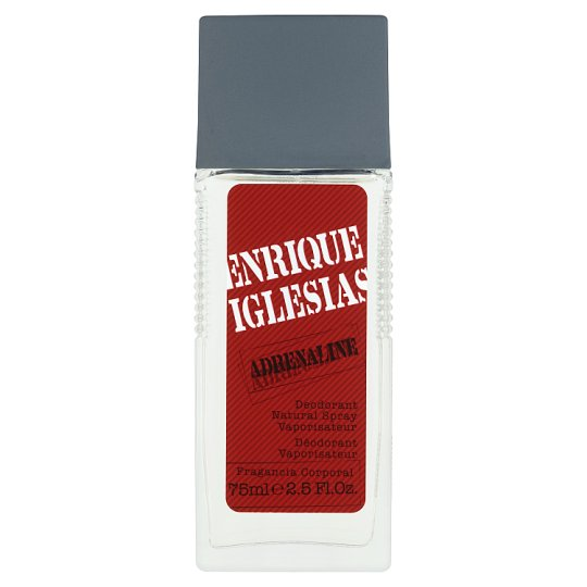 Enrique Iglesias Adrenaline Deodorant Natural Spray 75ml