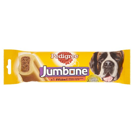 Pedigree Jumbone Maxi Beef Feed Supplement for Adult Dogs 210g