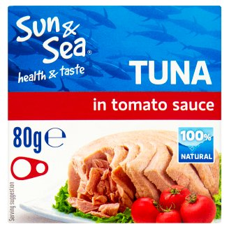 Sun & Sea Tuna in Tomato Sauce 80g